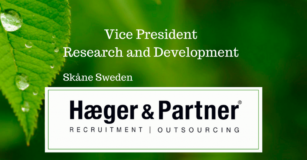 Vice President Research & Development
