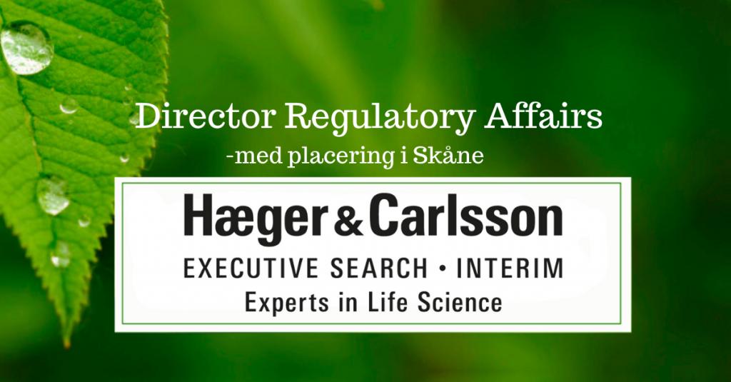 Director Regulatory Affairs