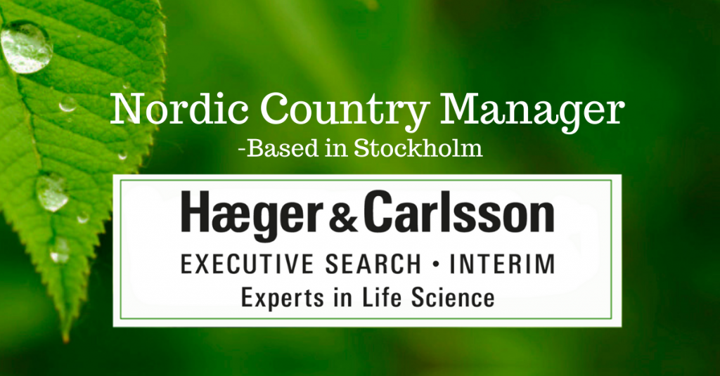 Nordic Country Manager
