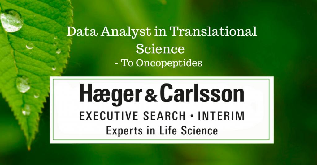 Data Analyst Translational Science